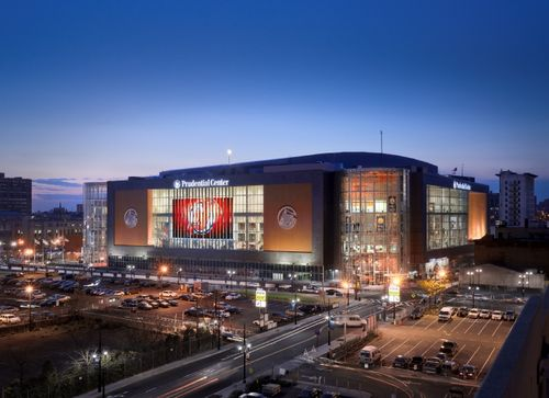 Prudential Center at Night (2)