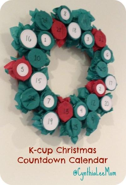 K Cup Christmas Countdown Calendar Whatever Works