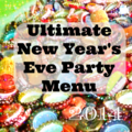 NYE Party Menu