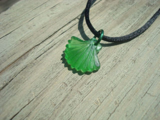 Sea glass scallop