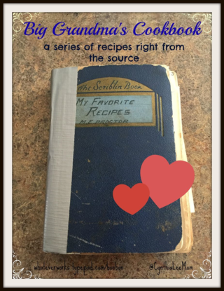 Big Grandma's cookbook
