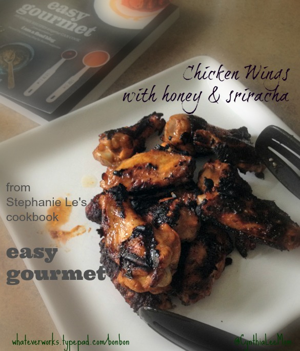 Easy gourmet by stephanie le review and recipe for chicken wings heres the recipe easy gourmet chicken wings forumfinder Images